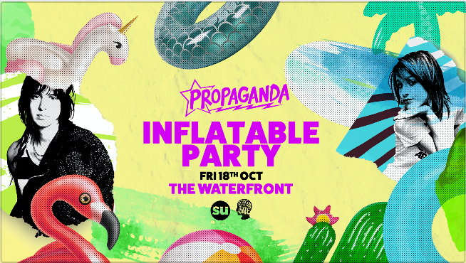Propaganda Norwich – Inflatable Party!