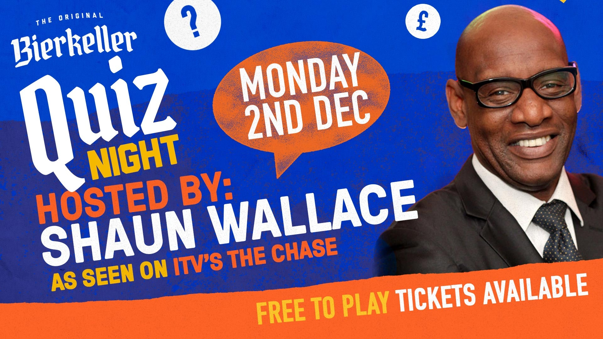 Shaun Wallace from 'The Chase' – Hosts Quiz Night