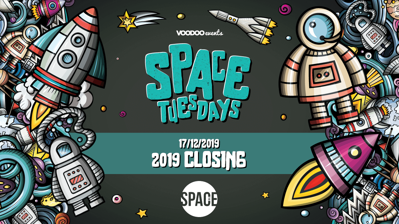Space Tuesdays : Leeds – 2019 Closing Party