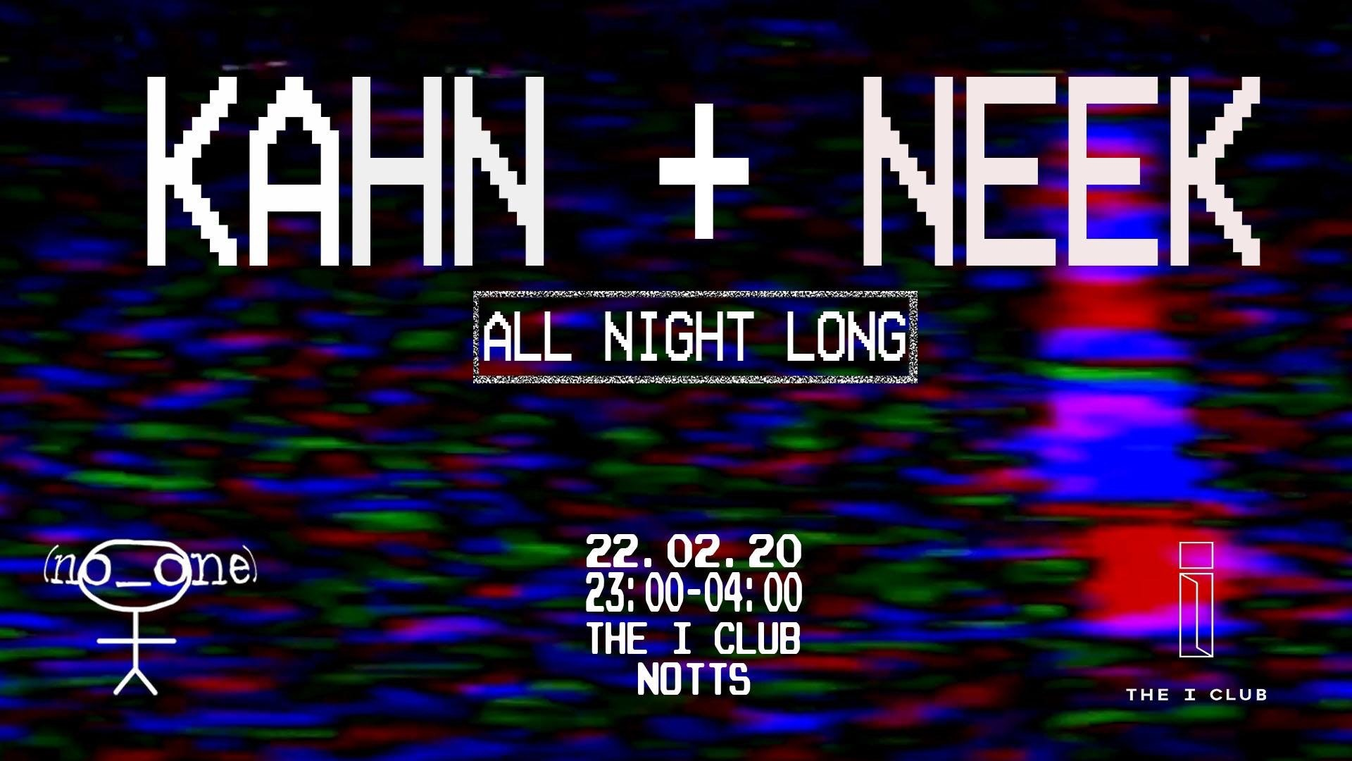 Kahn & Neek All Night Long
