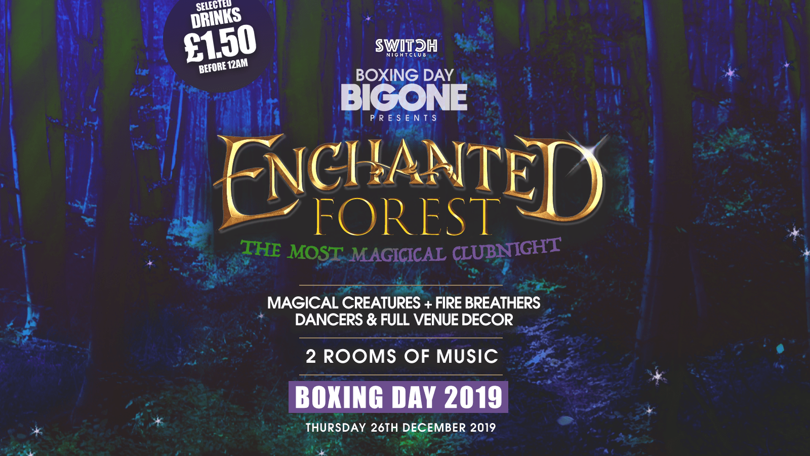 Boxing Day Enchanted Forest