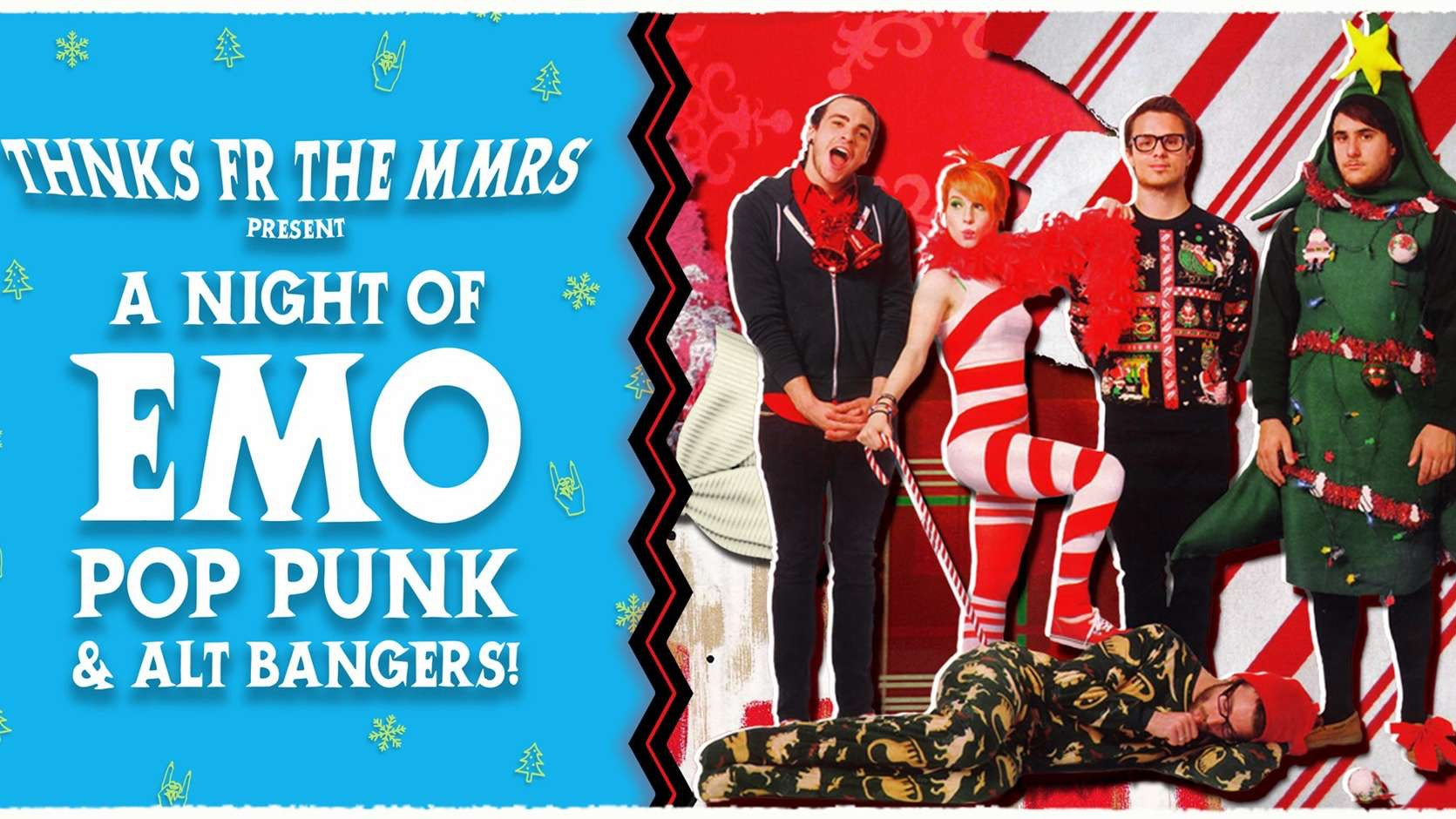 THNKS FR THE MMRS : XMAS EMO NIGHT!