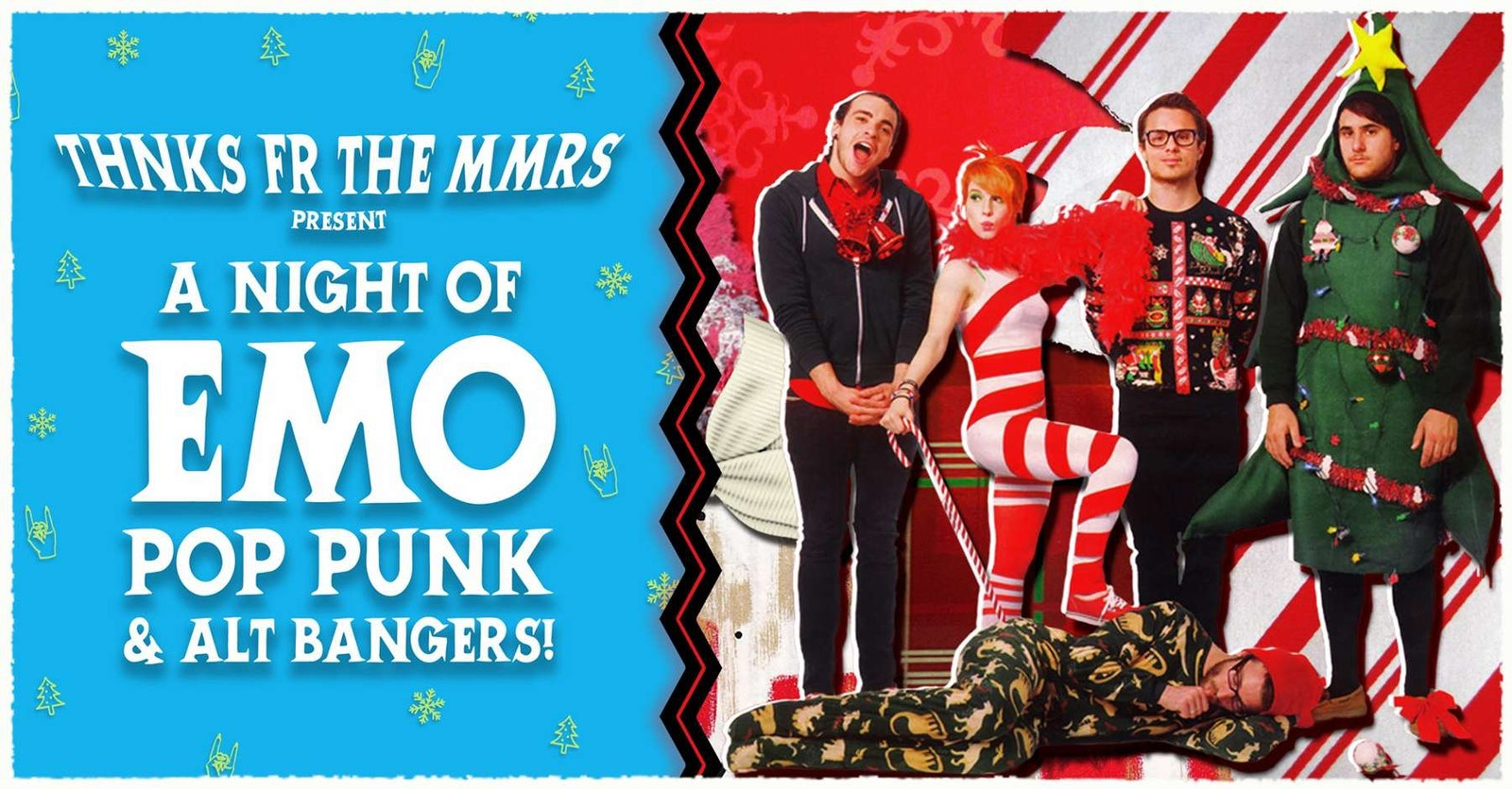 THNKS FR THE MMRS : XMAS EMO NIGHT!