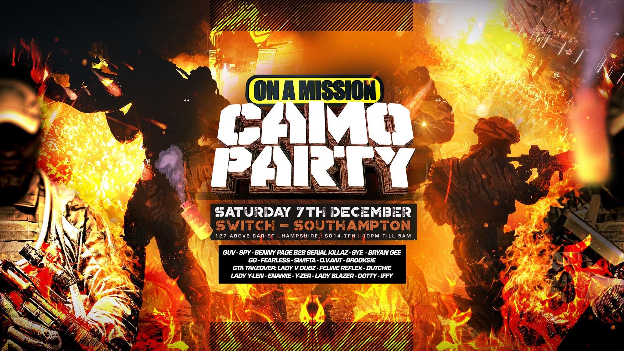 OAM – Camo Party 2019