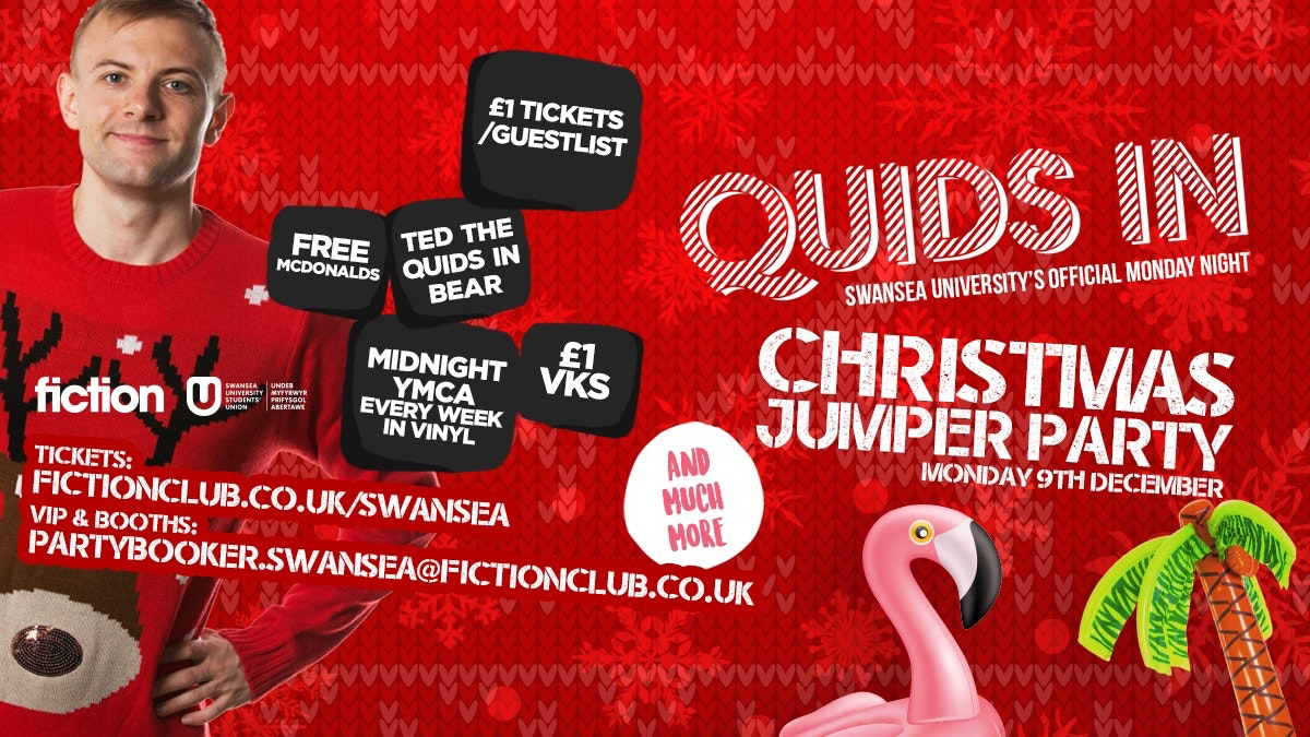 Quids IN: Christmas Jumper Party