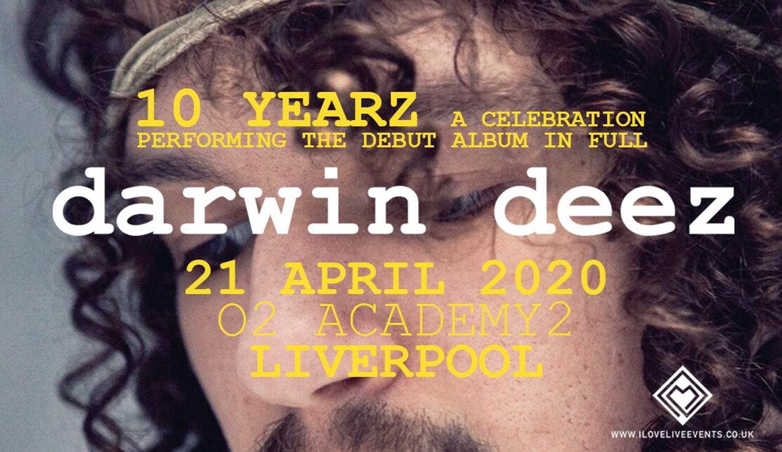 Darwin Deez – 10th Anniversary of 'Darwin Deez'