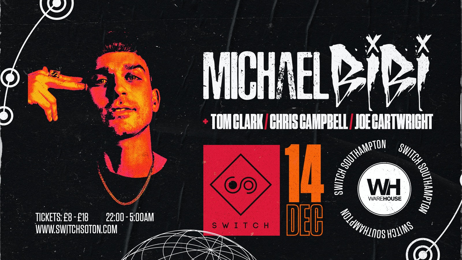 Warehouse Presents: Michael Bibi