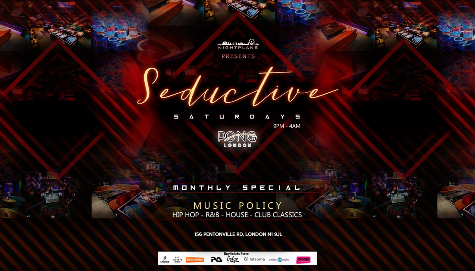 Seductive Saturdays New Years Special