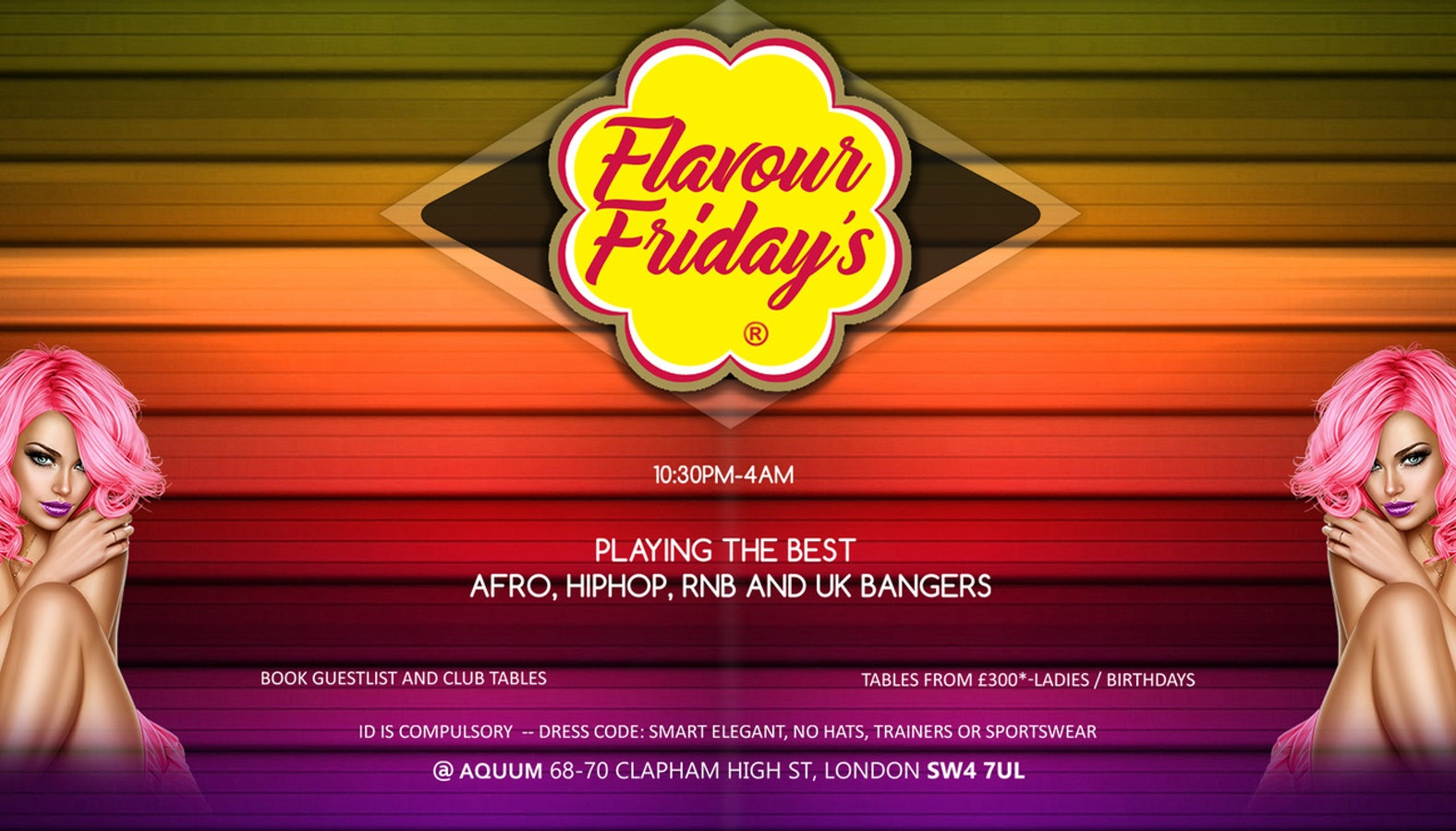 Flavour Fridays New Years Warmup