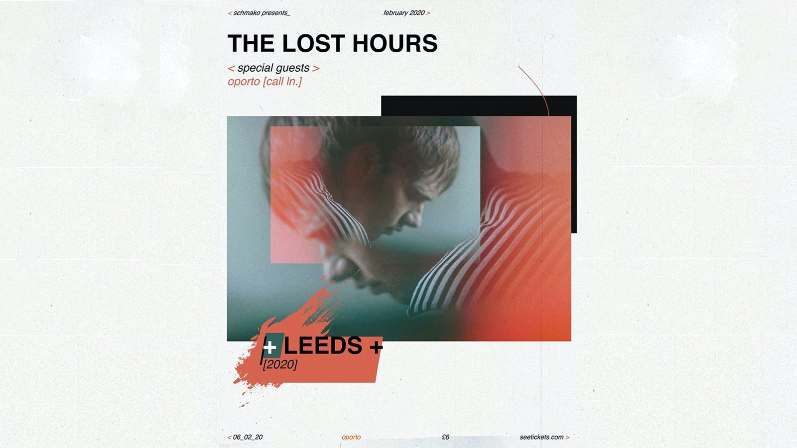 Schmako Presents: The Lost Hours + Special Guests