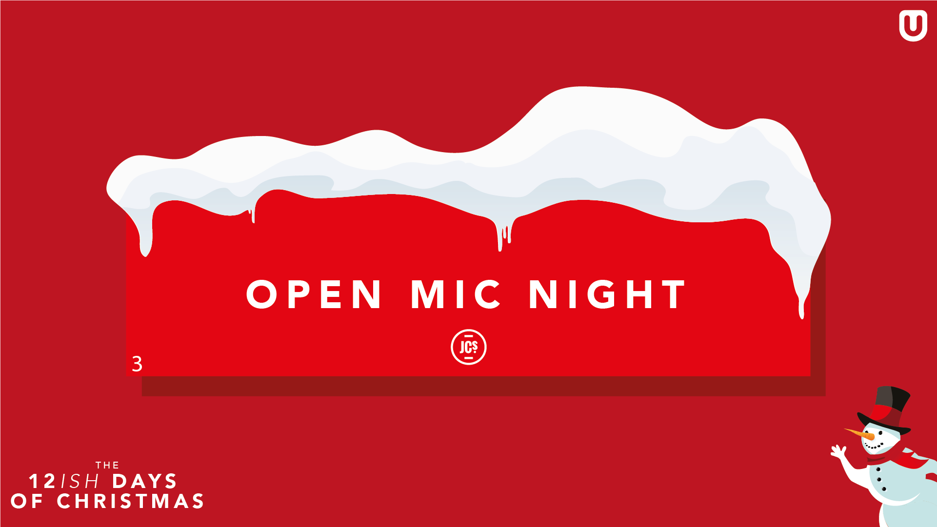 Open Mic Night ∙ Christmas