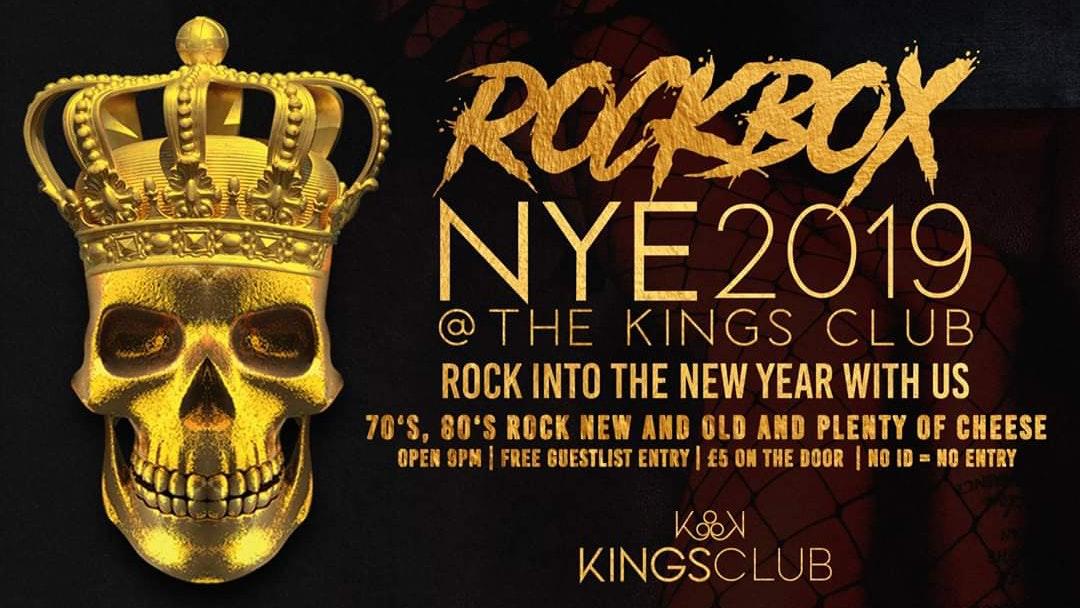 ROCKBOX New Year's Eve Special