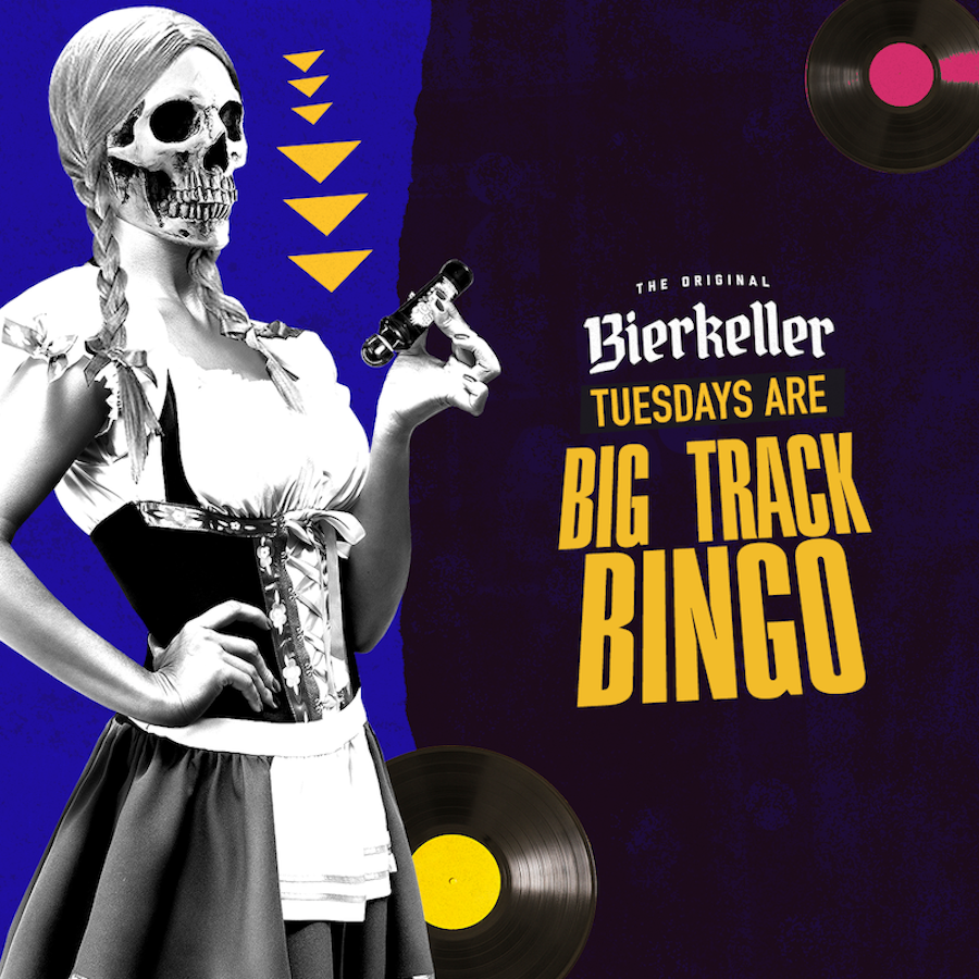 Big Track Bingo – Tuesday