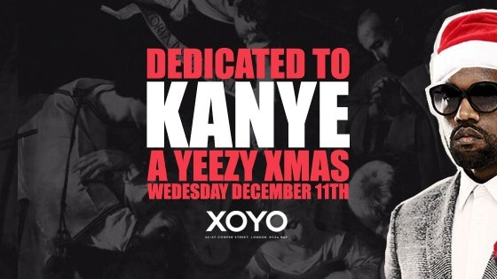 Dedicated to Kanye – #YeezyAllNight Christmas Party | XOYO