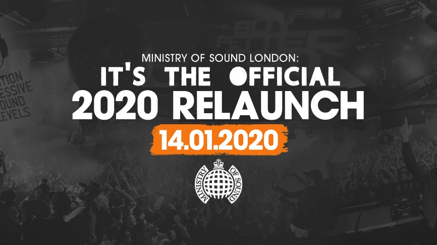 Ministry of Sound, Milkshake – The Official 2020 Relaunch 🔥