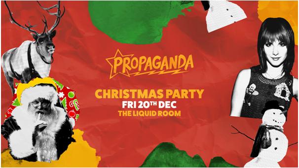 Propaganda Edinburgh – Christmas Party!