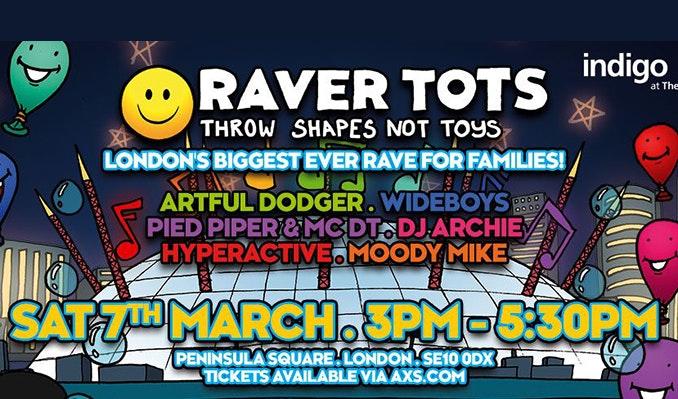 Raver Tots comes to indigo at the O2