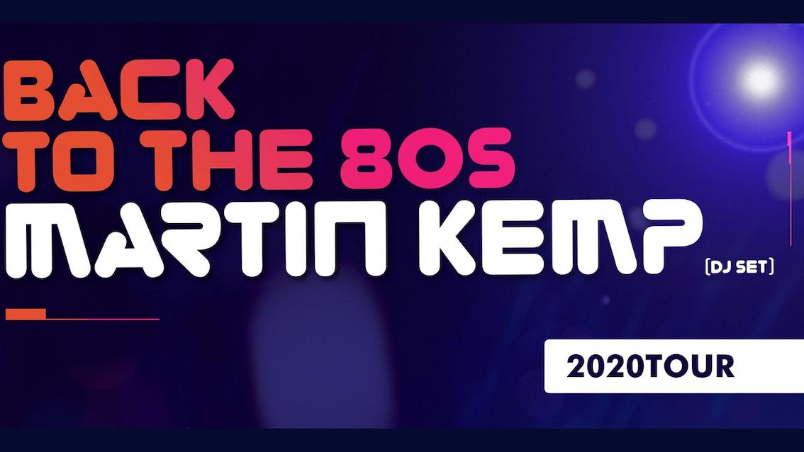 Martin Kemp – Back to the 80's DJ Set – Wolverhampton
