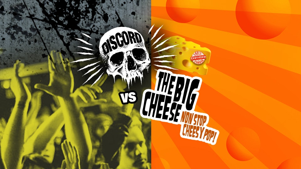 Discord vs The Big Cheese! Non Stop Cheese & Rock!