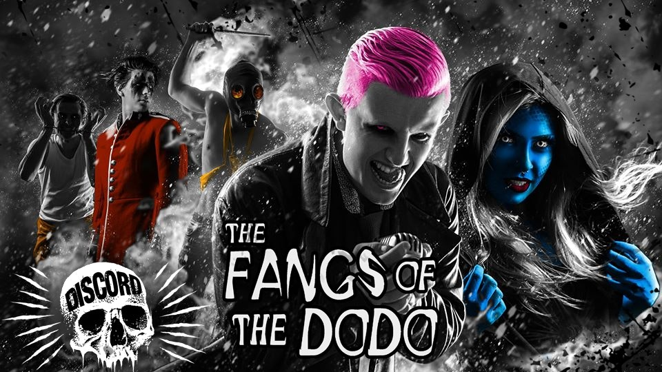 Discord w/ The Fangs Of The DoDo + Liquid State & H.O.X