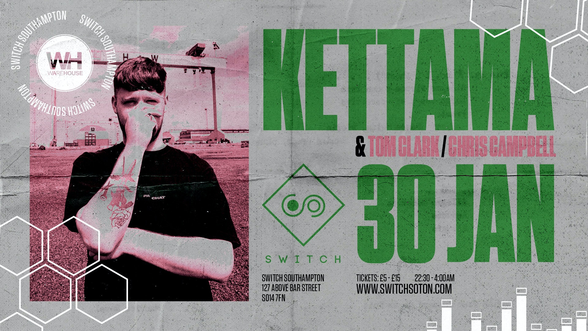 Warehouse Presents: Kettama