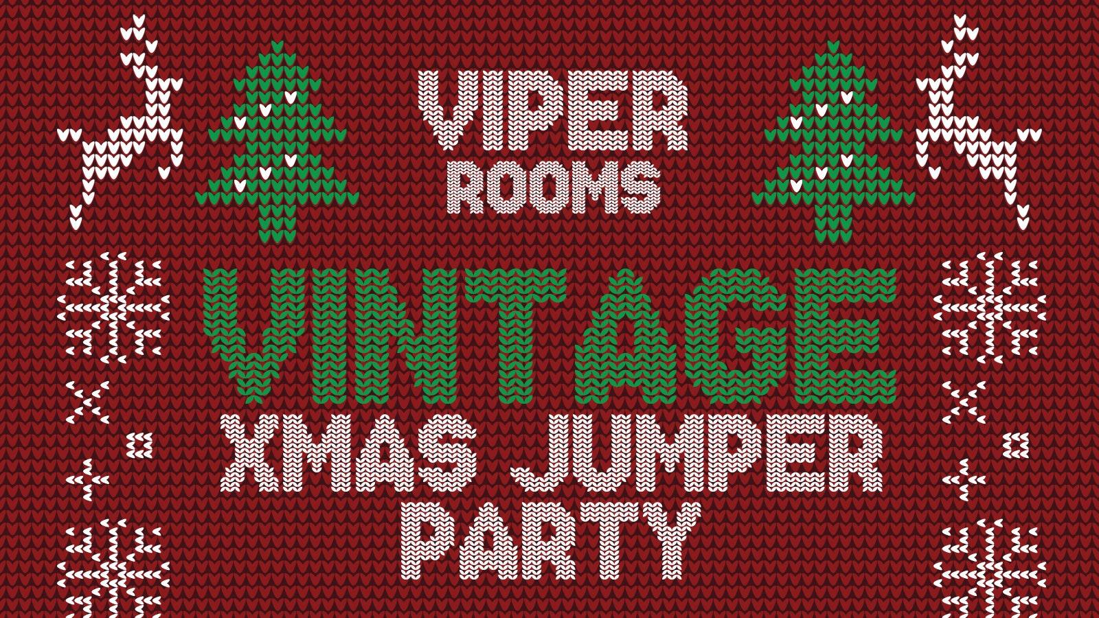 Vintage Xmas Jumper Party