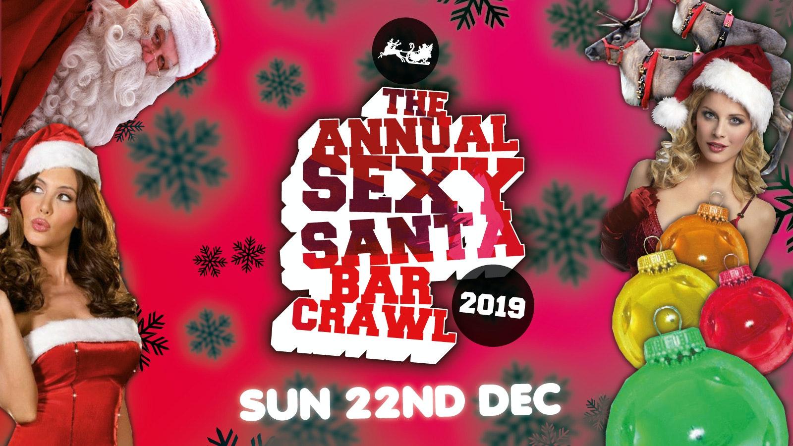 Sexy Santa Bar Crawl