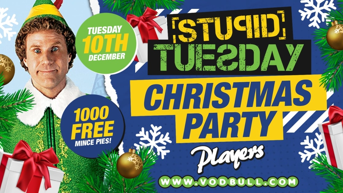 🎅 Stuesday 🎅 100 on the door from 11pm 🎅