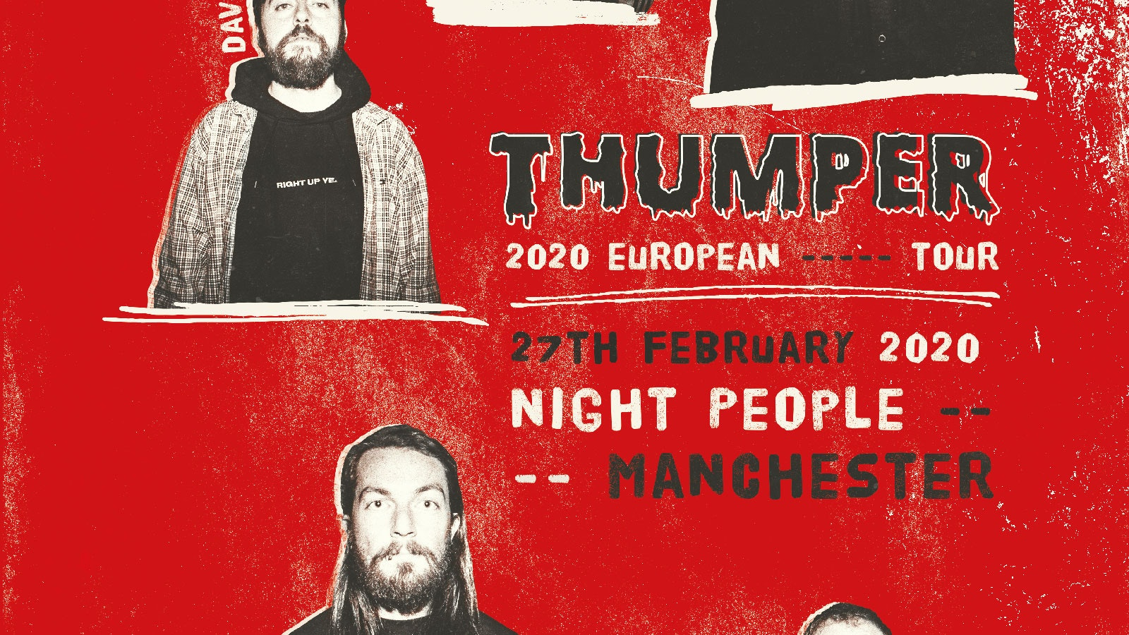 THUMPER | Manchester, Night People