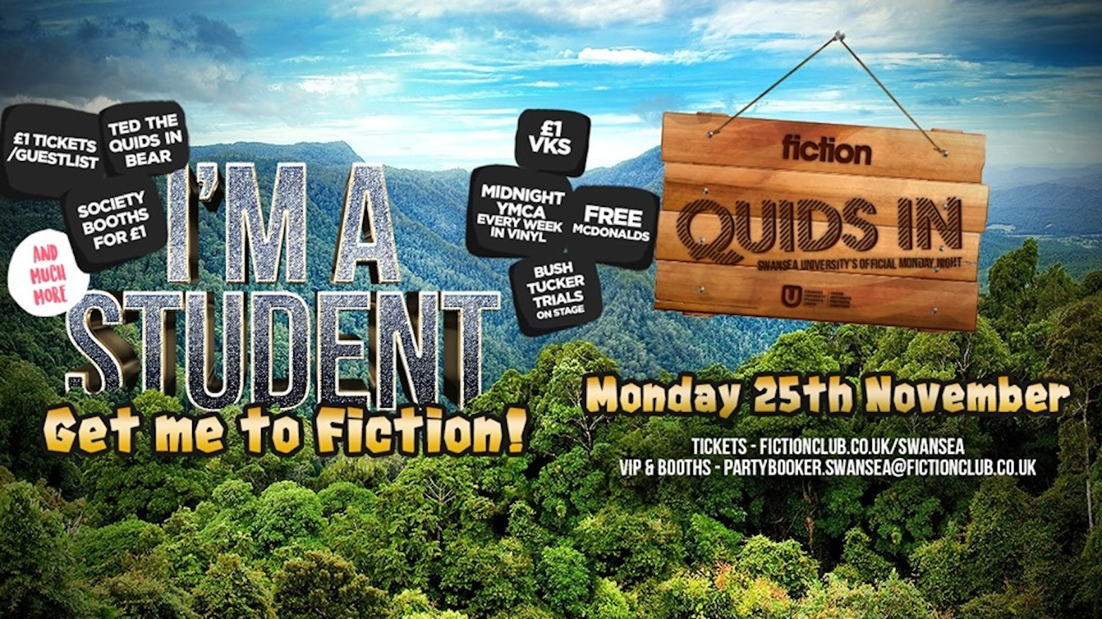 Quids In: I'm A Student, Get Me To Fiction