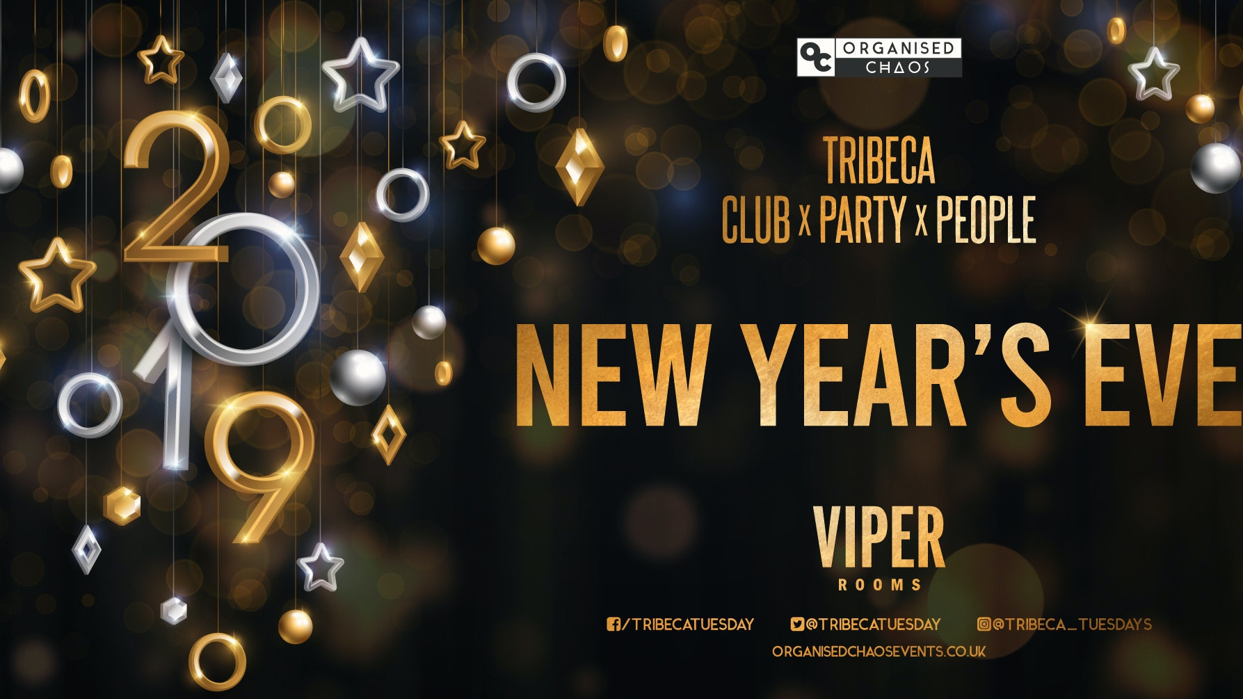 TRIBECA X VIPER – NEW YEARS EVE 2019