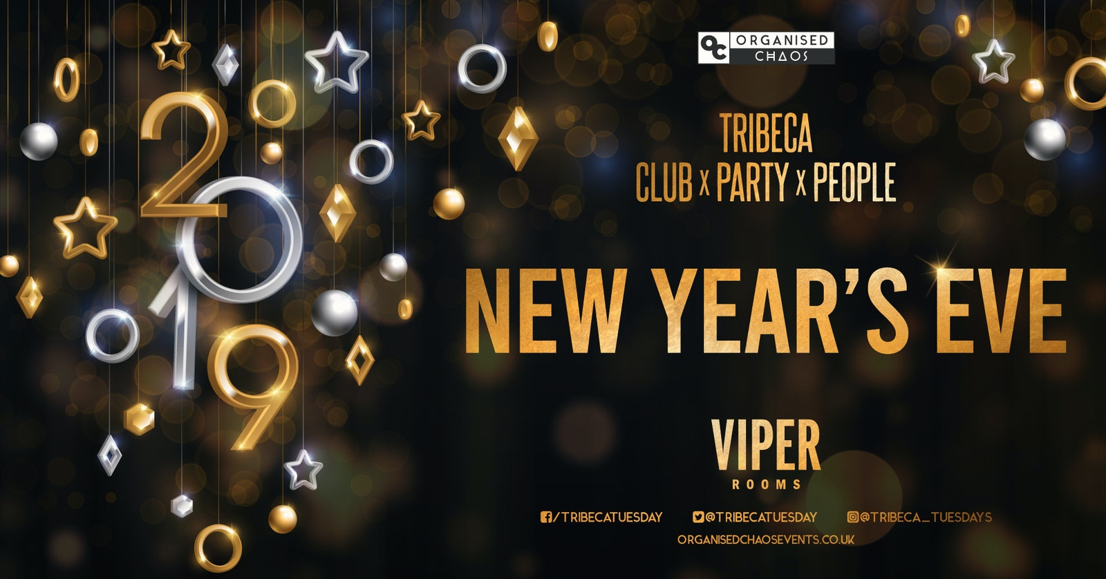 TRIBECA X VIPER – NEW YEARS EVE 2019