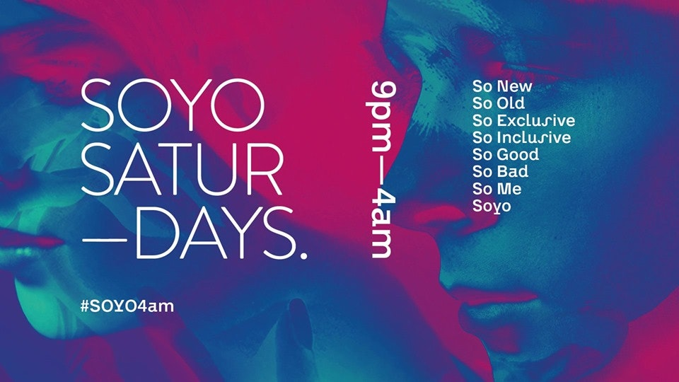 SOYO Saturdays