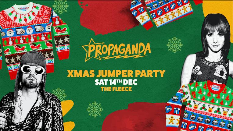 Propaganda Bristol – Xmas Jumper Party!