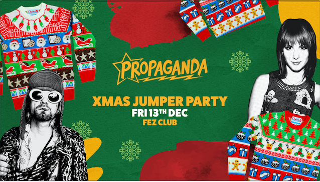 Propaganda Cambridge – Xmas Jumper Party!
