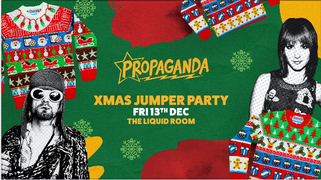 Propaganda Edinburgh – Xmas Jumper Party!