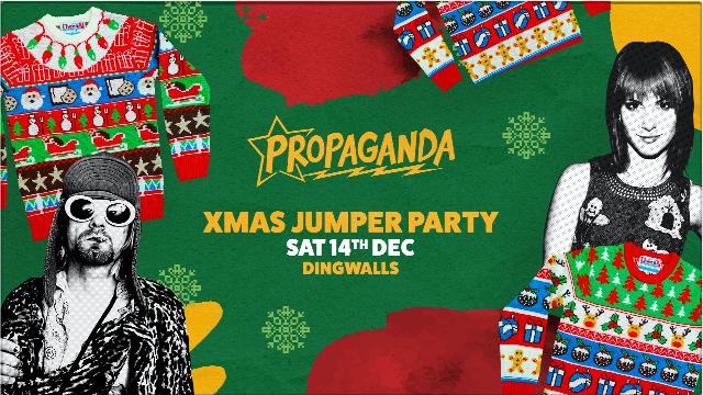 Propaganda London – Xmas Jumper Party!
