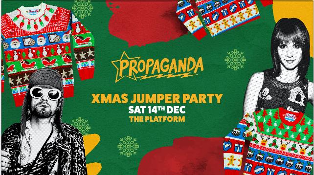 Propaganda Northampton – Xmas Jumper Party!