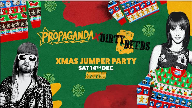 Propaganda Sheffield & Dirty Deeds – Xmas Jumper Party!