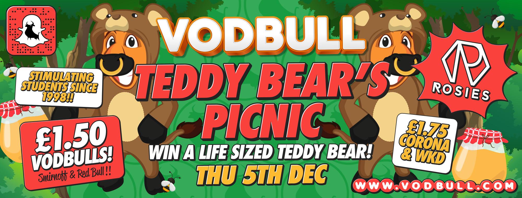 Vodbull Teddy Bears' Picnic!!