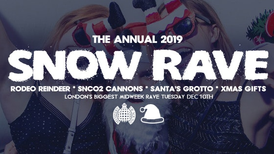 The Official Snow Rave 2019 ❄️Ministry of Sound | Milkshake