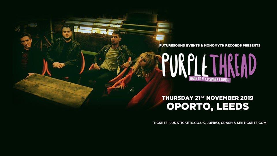 Purple Thread 'Back To N.Y.C' single launch // Leeds