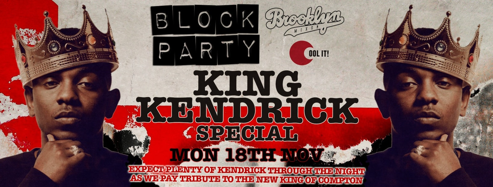 Block Party Mondays – KING KENDRICK SPECIAL