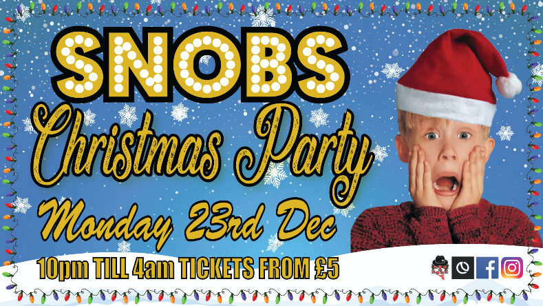 Snobs Christmas Party