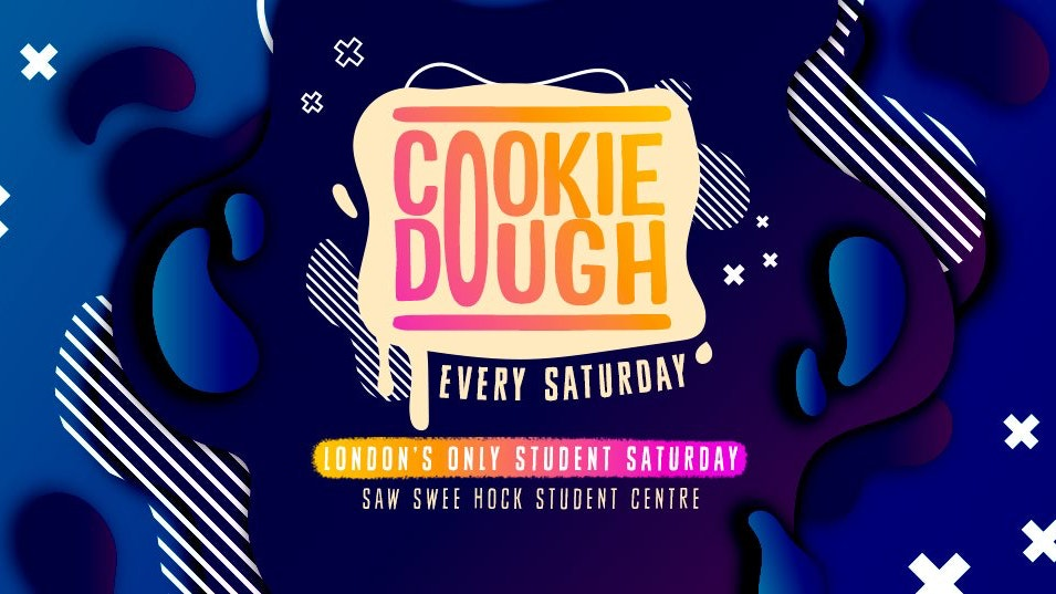 Cookie Dough / Every Saturday / Final tickets out now ✅