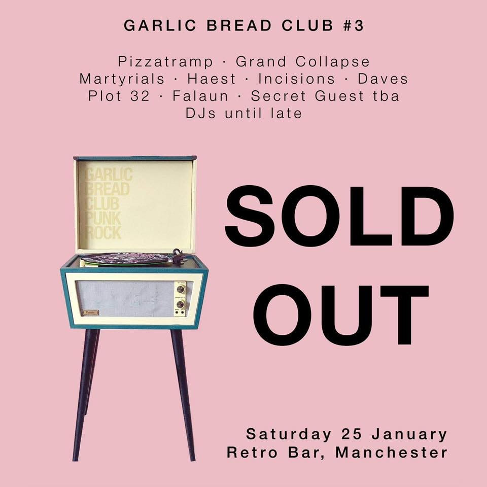 Garlic Bread Club #3 SOLD OUT