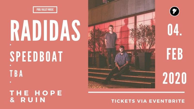 Radidas + Speedboat