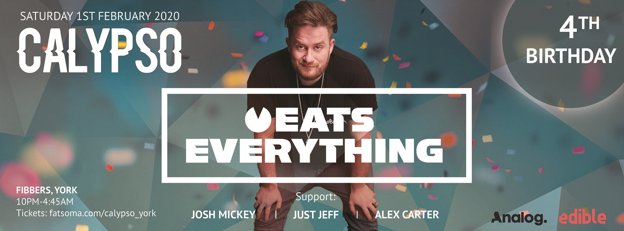 Calypso 4th Birthday: Eats Everything (Extended Set)