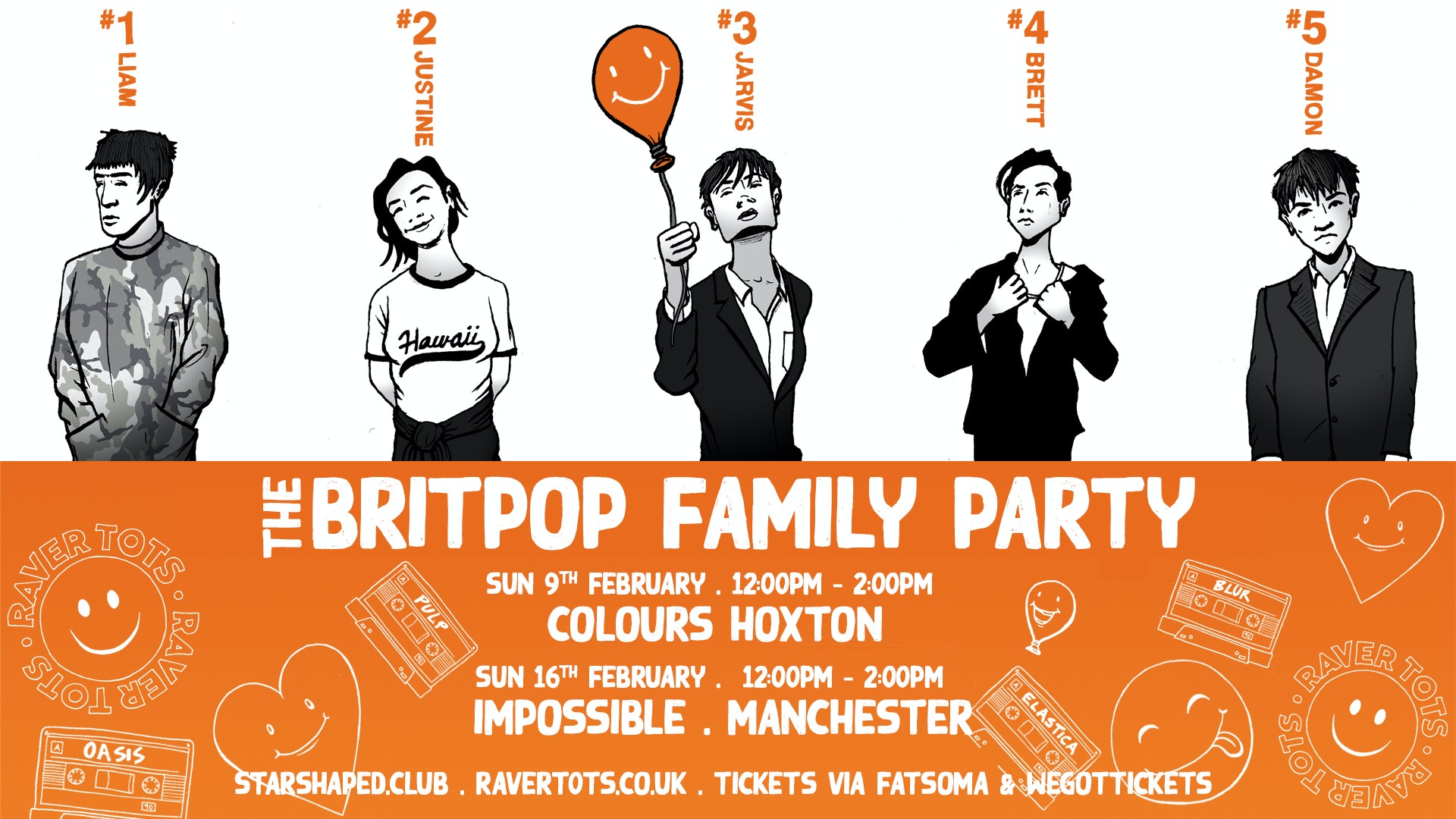 The Britpop Family Party