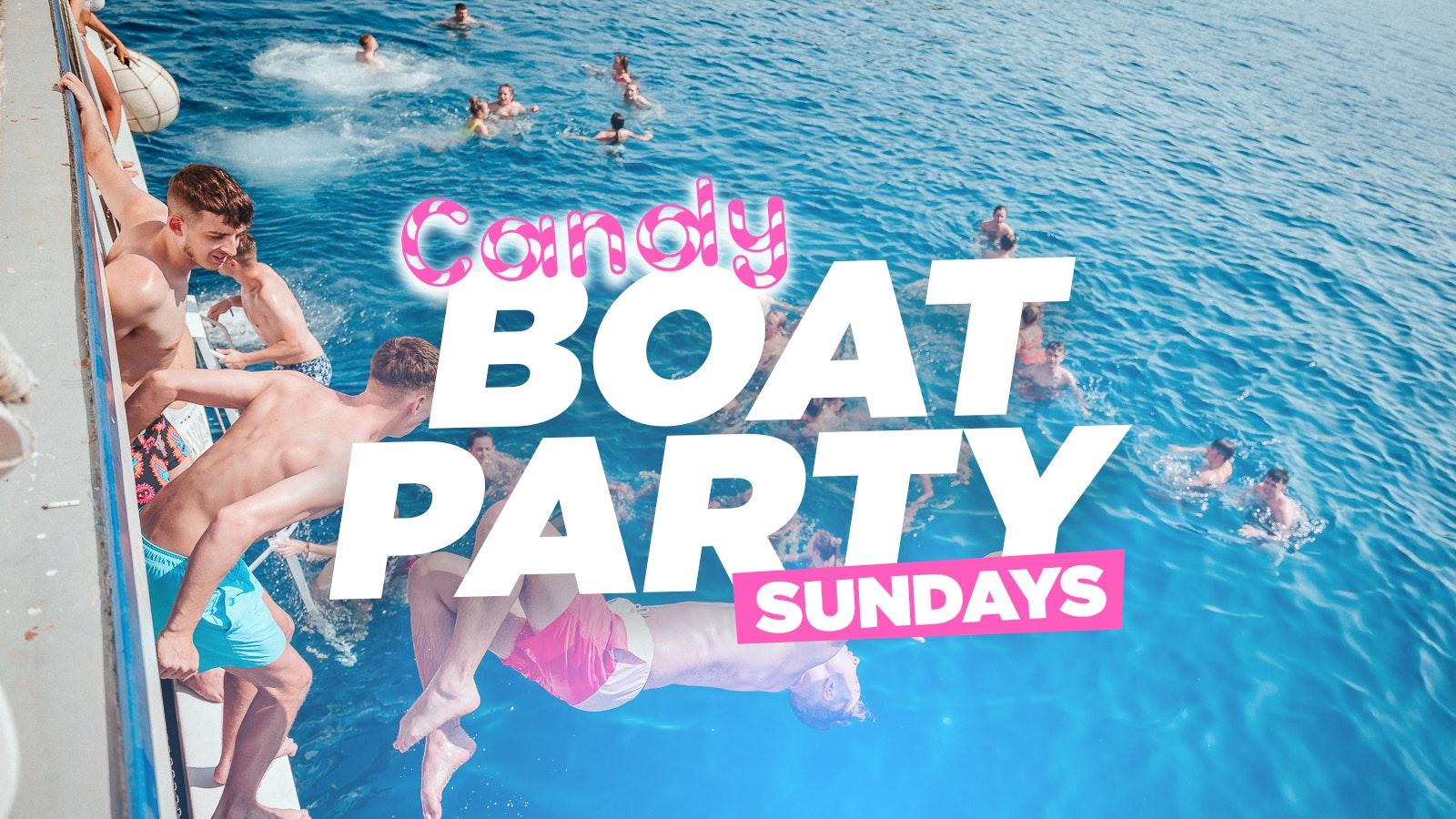 Malia Candy Boat Party